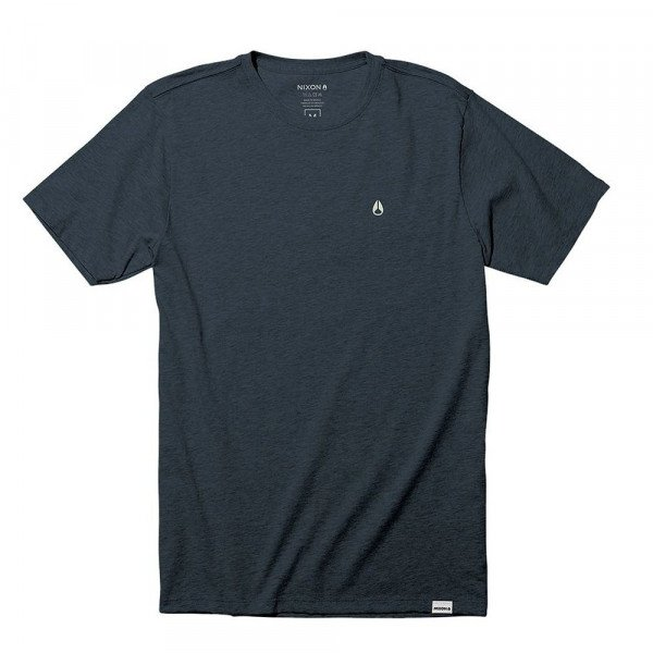 NIXON T-SHIRT SPARROW S/S TEE NAVY HEATHER S20