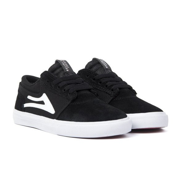 LAKAI APAVI GRIFFIN KIDS BLACK WHITE F18
