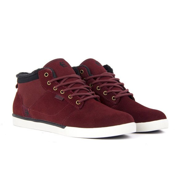 ETNIES APAVI JEFFERSON MID BURGUNDY GOLD F18
