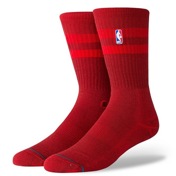 STANCE ZEĶES NBA ARENA NBA HOVEN CREW RED