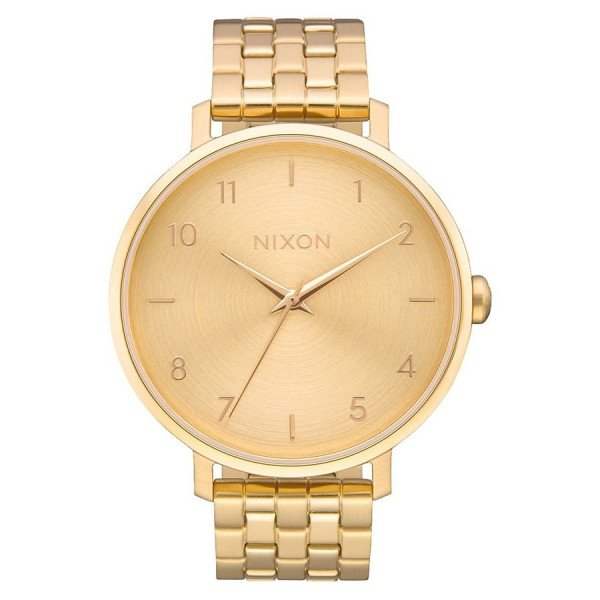 NIXON PULKSTENIS ARROW ALL GOLD
