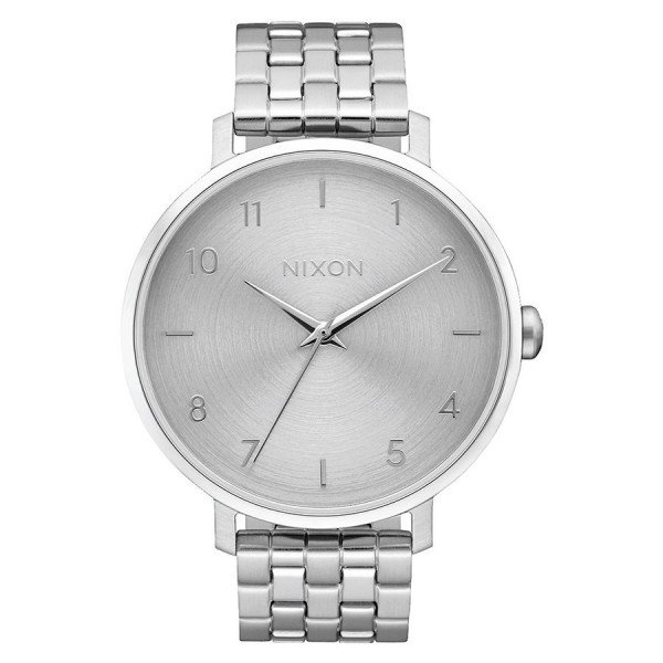 NIXON PULKSTENIS ARROW ALL SILVER