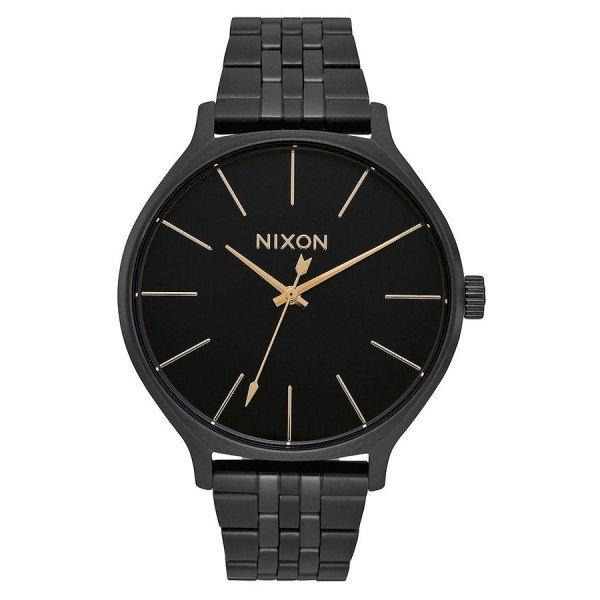 NIXON PULKSTENIS CLIQUE ALL BLACK