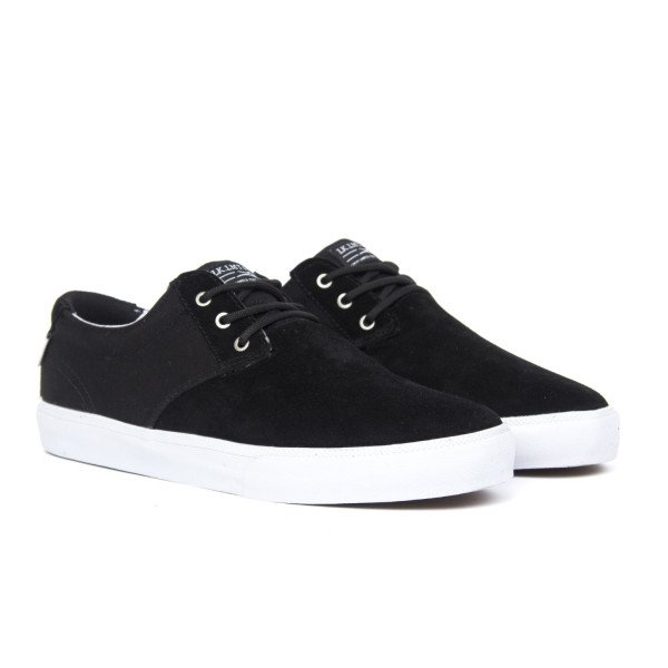 LAKAI SHOES DALY BLACK SUEDE F18