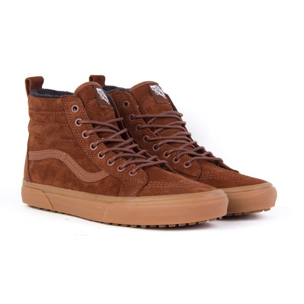 VANS SHOES SK8-HI MTE SEQUOIA GUM F18