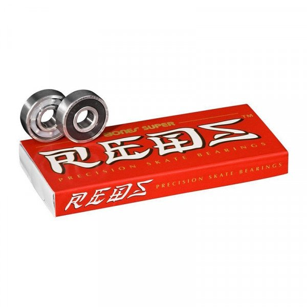 BONES GULTŅI SUPER REDS 16 PK BEARINGS