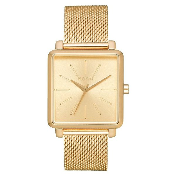 NIXON PULKSTENIS K SQUARED MILANESE ALL GOLD