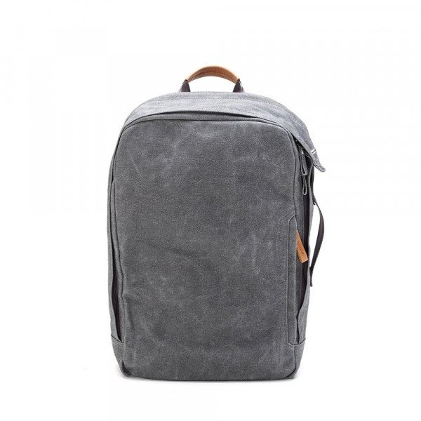 QWSTION SOMA BACKPACK WASHED GREY F18