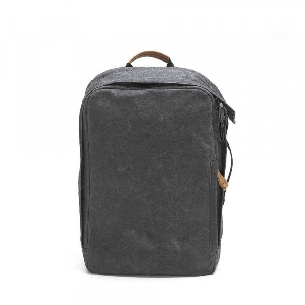 QWSTION SOMA BACKPACK WASHED BLACK S19