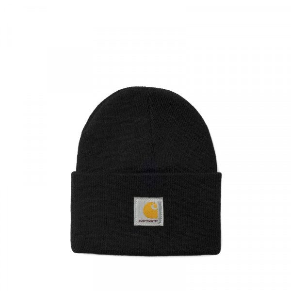 CARHARTT CEPURE ACRYLIC WATCH HAT BLACK