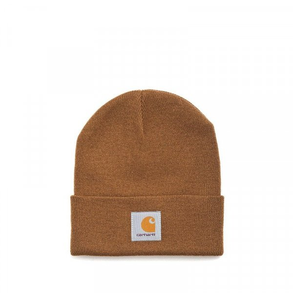 CARHARTT CEPURE ACRYLIC WATCH HAT HAMILTON BROWN