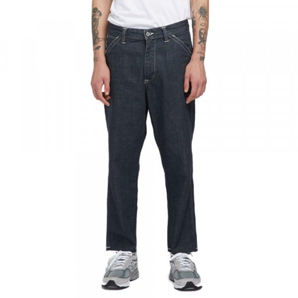EDWIN BIKSES JAPANESE WORKER PANT GREY RINSED SHRED F18