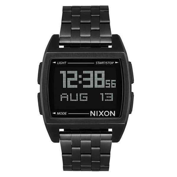 NIXON PULKSTENIS BASE ALL BLACK
