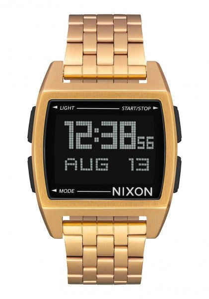 NIXON PULKSTENIS BASE ALL GOLD