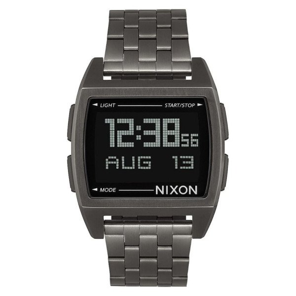 NIXON PULKSTENIS BASE ALL GUNMETAL