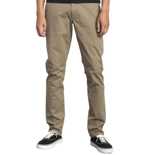 RVCA PANTS DAGGERS CHINO WOOD F18