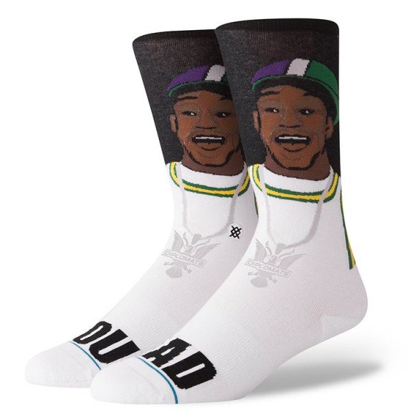 STANCE SOCKS ANTHEM YOU MAD? BLACK