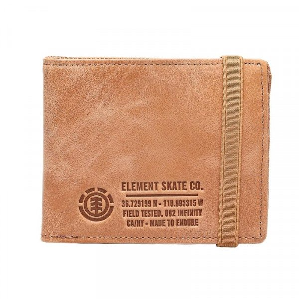 ELEMENT MAKS ENDURE L. II WALLET NATURAL F18