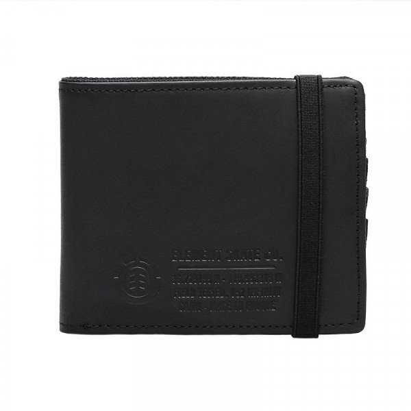 ELEMENT MAKS ENDURE L. II WALLET BLACK