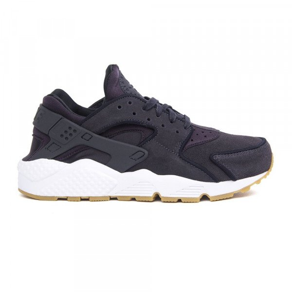 NIKE APAVI AIR HUARACHE RUN PRM W OIL GREY BLACK WHITE F18