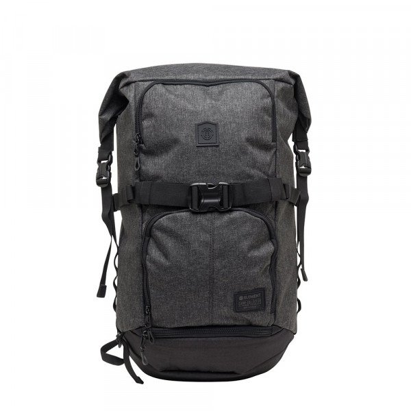 ELEMENT SOMA THE WEEKENDER BLACK GRID HTR F18