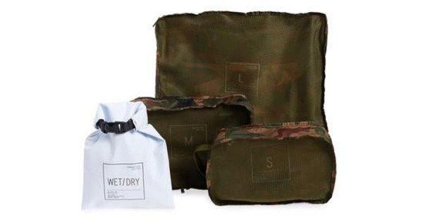 HERSCHEL STANDARD ISSUE TRAVEL SYSTEM WOODLAND CAMO