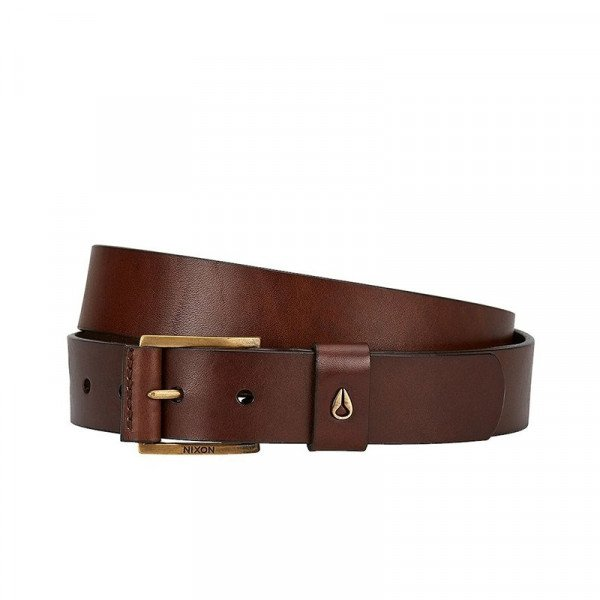NIXON BELT AMERICANA MID SE BELT BLACK BROWN