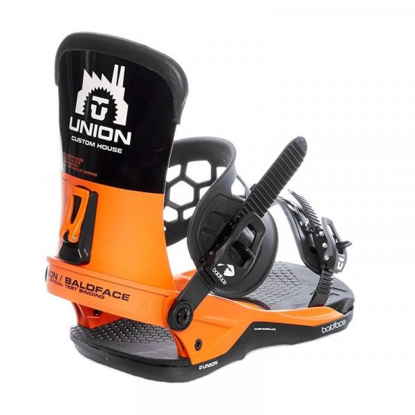 UNION BINDINGS  BALDFACE ORANGE BLACK W18