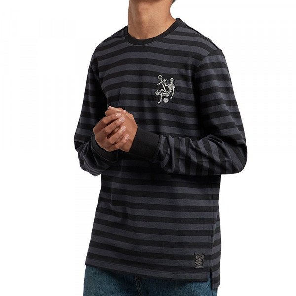 ELEMENT LONGSLEEVE VOYAGER LS KNIT INDIA INK F18