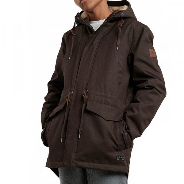 ELEMENT JACKET ROGHAN CHOCOLATE TORTE F18