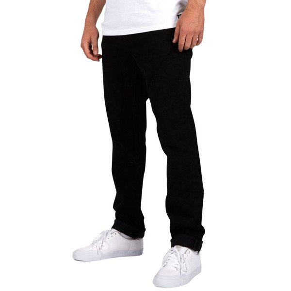 ELEMENT PANTS E02 BLACK RINSE F18