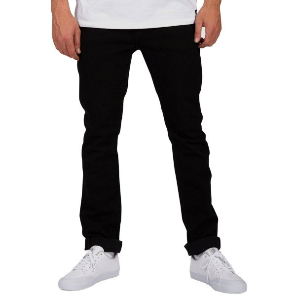 ELEMENT PANTS E01 BLACK RINSE F18