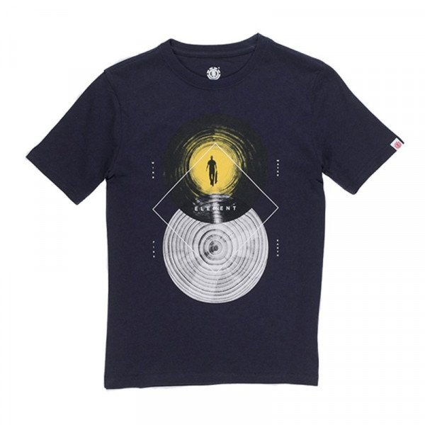 ELEMENT T-SHIRT RIPPLES SS KIDS ECLIPSE NAVY F18