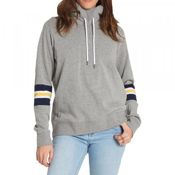 ELEMENT HOOD AMOUR GREY HEATHER F18