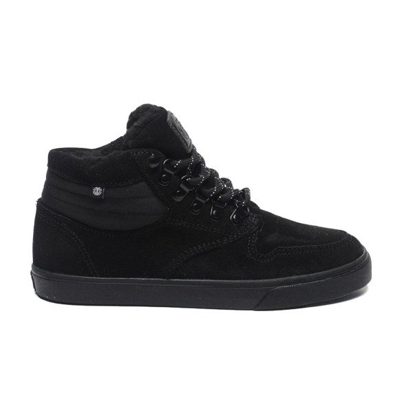ELEMENT SHOES TOPAZ C3 MID KIDS BLACK BLACK F18