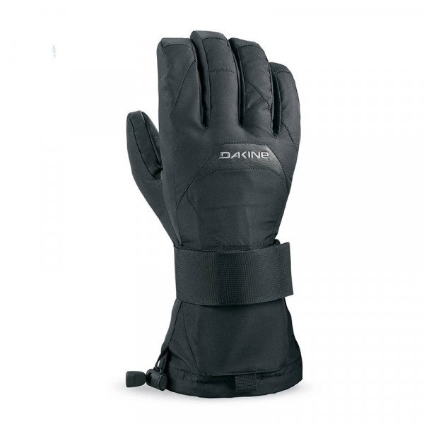 DAKINE GLOVES WRISTGUARD GLOVE BLACK W19