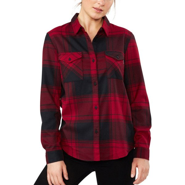 DAKINE KREKLS NOELLA TECH FLANNEL CHILI PEPPER F18