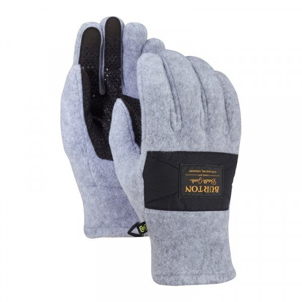 BURTON CIMDI MB EMBER FLEECE GLOVE GRAY HEATHER W18