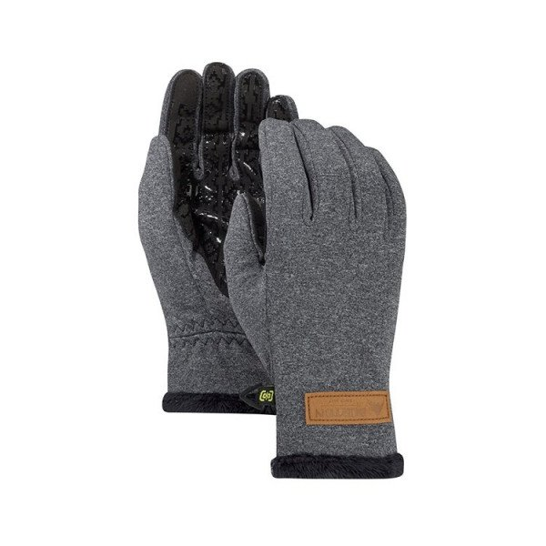 BURTON CIMDI WB SAPPHIRE GLOVE TRUE BLACK HEATHER W18