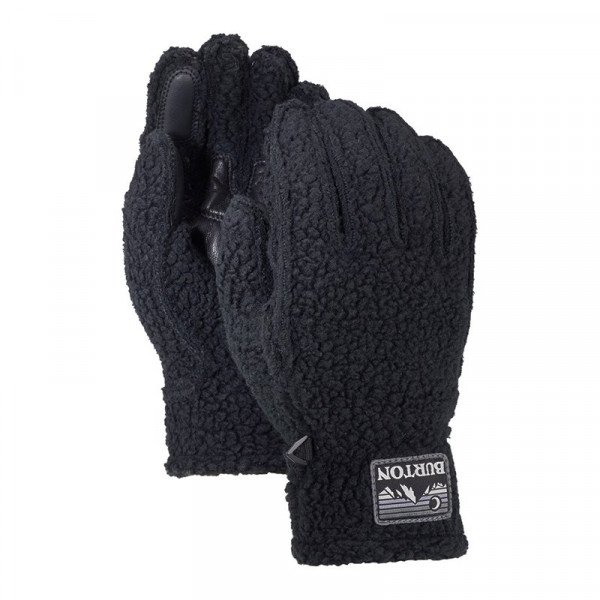 BURTON CIMDI STOVEPIPE FLEECE GLOVE TRUE BLACK HEATHER W18