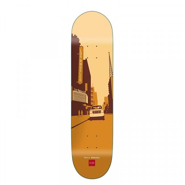 CHOCOLATE SK8KLĀJS BRENES CITY DECK 8.25