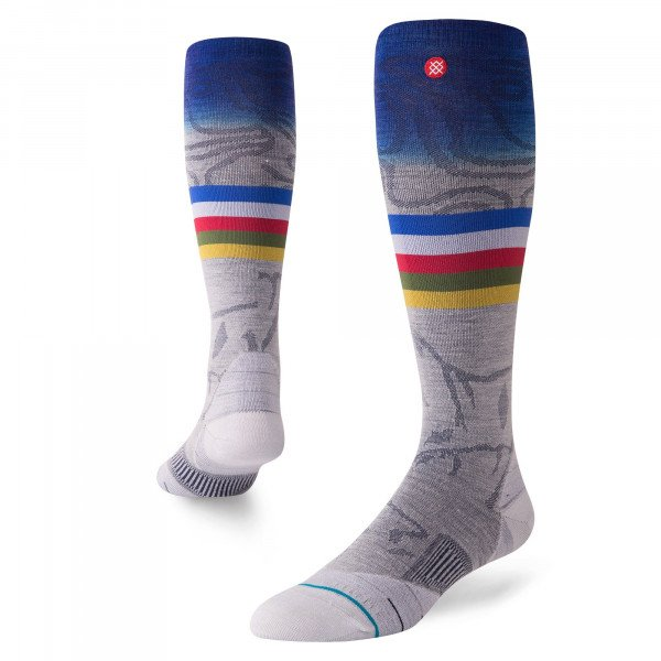 STANCE ZEĶES JC SNOW GREY