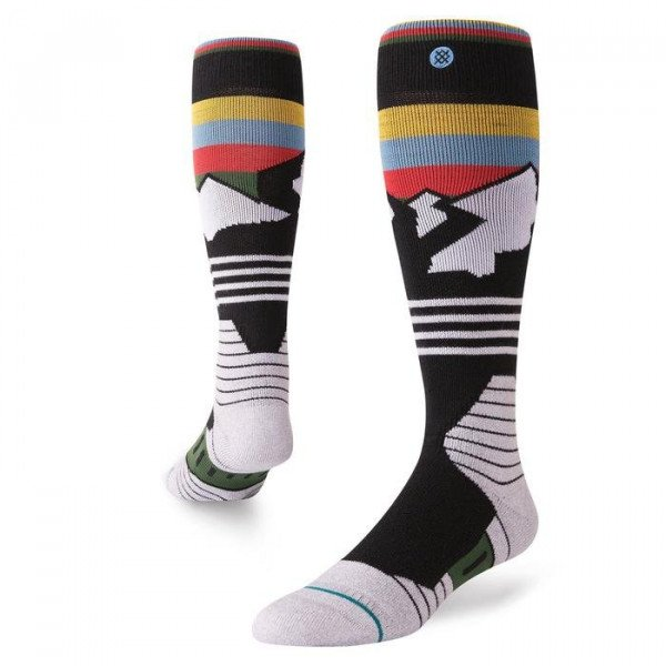 STANCE ZEĶES WIND RANGE SNOW BLACK