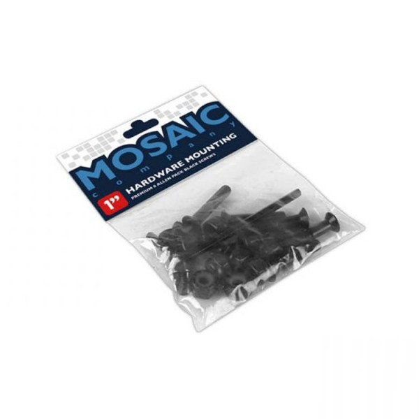 MOSAIC SKRŪVES MOUNTING BOLTS 1'' ALLEN BLACK