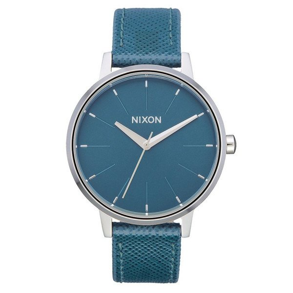 NIXON PULKSTENIS KENSINGTON LEATHER PEACOCK