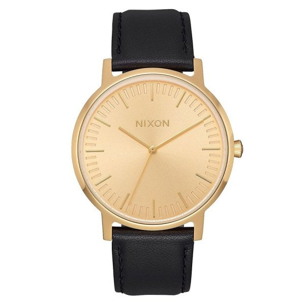 NIXON PULKSTENIS ARROW ALL BLACK