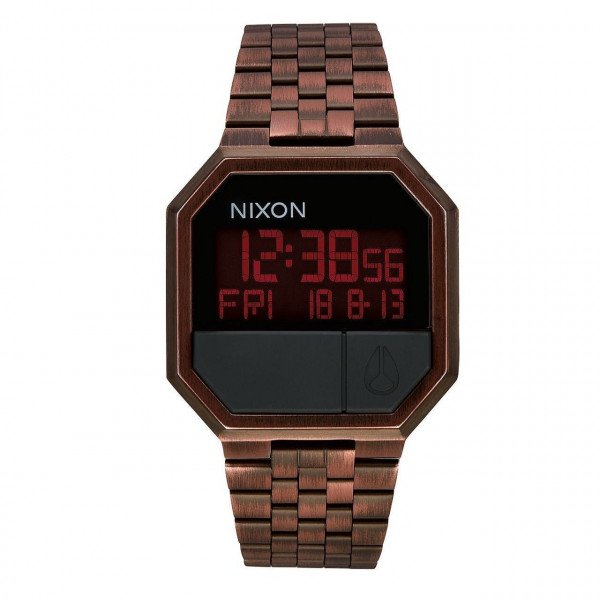 NIXON PULKSTENIS RE-RUN ANTIQUE COPPER