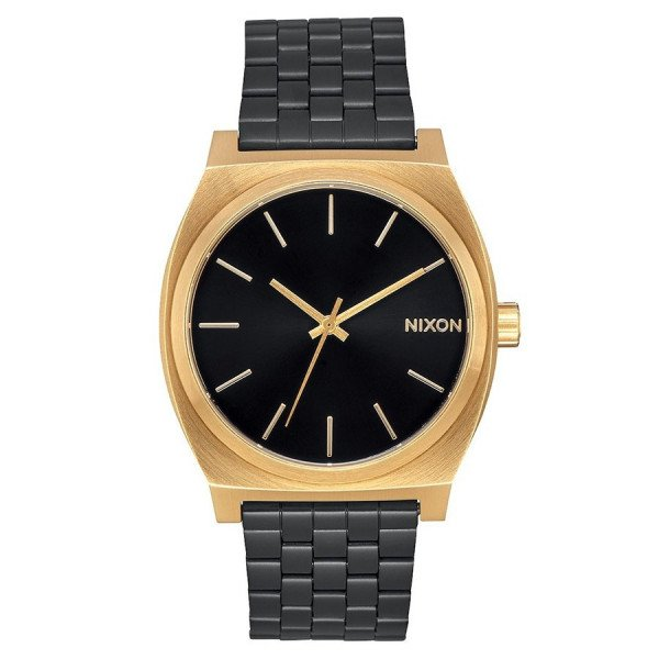 NIXON PULKSTENIS TIME TELLER GOLD BLACK SUNRAY
