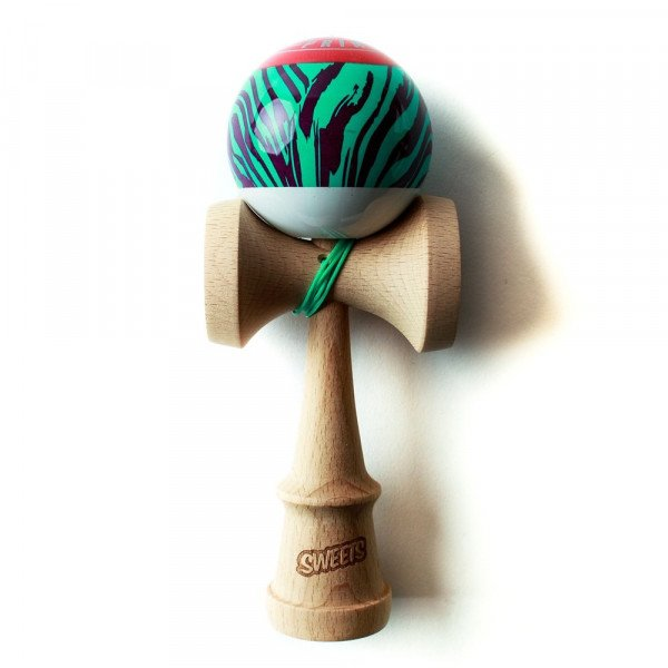 KENDAMA SWEETS PRIME GRAIN SPLIT 2.0 LASER TAG