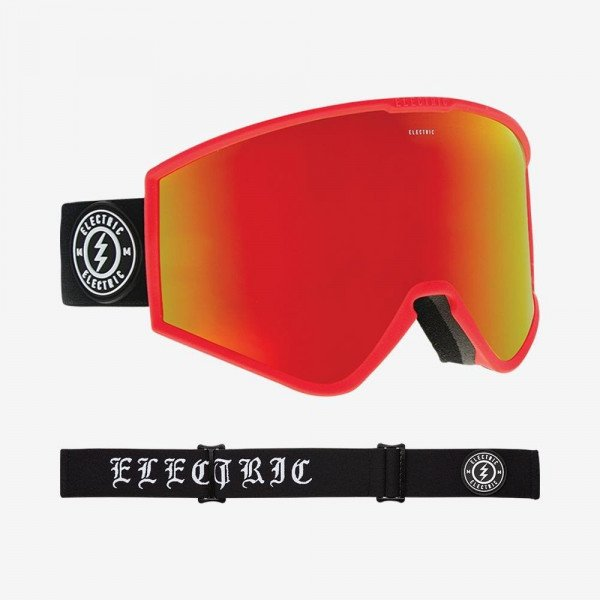 ELECTRIC BRILLES KLEVELAND ENGLISH BROSE RED CHROME